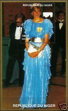 LADY DIANA, PRINCESS OF WALES IN LIGHT BLUE DRESS