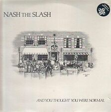 And You Thought You Were Normal [Colored Vinyl] by Nash the Slash (Vinyl, Feb-2017, 2 Discs, Artoffact)