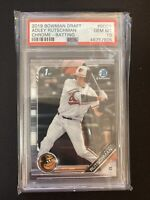 Adley Rutschman 2019 Bowman Draft Chrome 1st BDC-1 RC Rookie PSA 10