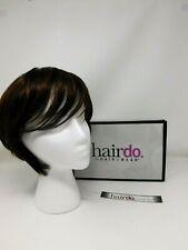 Hairdo Angled Short Cut Wig BLACK/BURGUNDY A212883 $109 value NIB