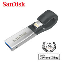 SanDisk iXpand 64GB Lightning USB For iPhone - Tracking include