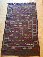 Antique Beni Ourain Rug, Brown Moroccan rug, 5,7 x 3,4 CHRISTMAS PRESENT GIFT