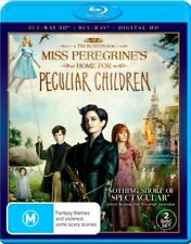 MISS PEREGRINE'S Home For PECULIAR CHILDREN 2D & 3D New Blu-Ray + HD Copy 2 Disc