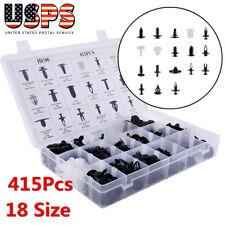 415PCS/Set Car Autos Body Retainer Push Pin Rivet Clip Mouldings Trim Panel