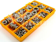60 ASSORTED A2 STAINLESS STEEL SECURITY SHEAR NUTS