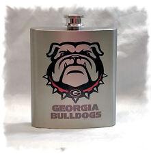 University of Georgia Bulldogs 7 ounce Stainless Steel Flask