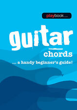 Playbook Guitar Chords Beginner Guide Learn How to Play Music Lessons Book NEW