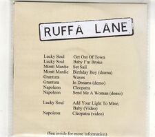 (GT701) Lucky Soul/Montt Mardie/Grantura/Napoleon, split sampler - 2007 DJ CD