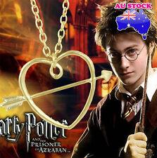 Film Retro Harry Potter Ronald Horcrux Stone Mandrel Gold Pendant Necklace
