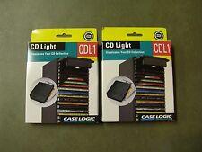 2  NIB CD Rack Case Light - Illuminates Your CD Collection