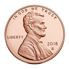 2018-S Proof Lincoln Cent - Deep Cameo Gem Proof - Same Day shipping.