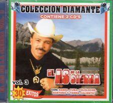 El As De La Sierra Coleccion Diamante 30 Exitos Vol 3  2CD New Sealed