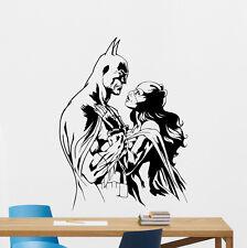 Batman Catwoman Wall Decal Superhero Vinyl Sticker Art Decor Poster Mural 186zzz