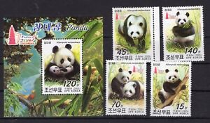 Big Panda / Taipei 2005 on postage stamps perf. MNH** C!0