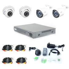 Videoüberwachung Komplettset HD Überwachungskamera Set Internetzugriff BNC AHD
