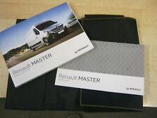 RENAULT MASTER  OWNERS MANUAL HANDBOOK WALLET  2012-2016 SERVICE BOOK