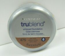 Covergirl TruBlend Whipped Foundation #475 Soft Sable New Sealed Discontinued