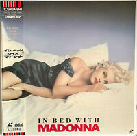 IN BED WITH MADONNA TRUTH OR DARE LASERDISC w/OBI 1991 NTSC JAPAN blond ambition