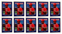 (10) 1992 Sports Cards #59 Barry Larkin Baseball Card Lot Cincinnati Reds