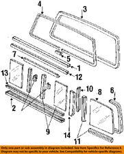 FORD OEM 1991 F-250 Rear Window Glass-Molding Trim F1TZ1542430A