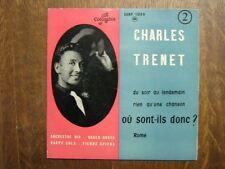 CHARLES TRENET EP FRANCE ROME