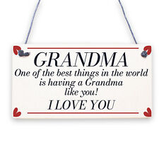 Thank You Gift Wooden Flower Grandma Birthday Christmas Gift From Grandchildren