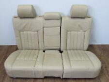 Sitz Sitzbank hinten Leder NVN purebeige Sitzheizung VW Touareg I 7L6 Facelift