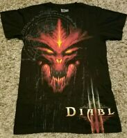NWOT Diablo III Logo Big Graphic T-Shirt Special Edition Red Devil Blizzard Jinx