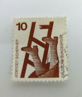 100x 10 Pfennig Briefmarken Bundesrepuplik Deutschland