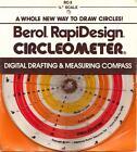 "Berol Rapidesign Circleometer - Drafting Measuring Compass - 1/4"" Scale RC-3 NOS"