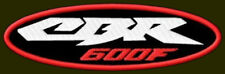 "HONDA CBR 600 F EMBROIDERED PATCH ~5-1/2""x 1-3/4"" BIKER BORDADO PARCHE AUFNÄHER"