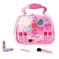 Pretend Play Cosmetic Makeup Toy Set Kit For Little Girls Kids Child Beaut IIR