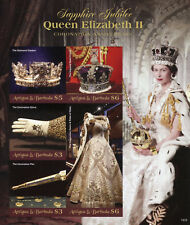 Antigua & Barbuda 2018 MNH Queen Elizabeth II Coronation 5v IMPF M/S Stamps