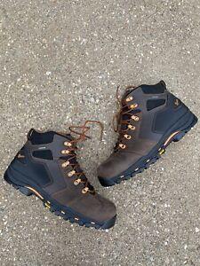 Danner Men's Vicious 4.5 Non Metallic Safety Work Boot 12 D Brown/Orange