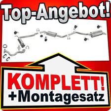 Auspuff VW T4 1.9 TD 2.4 D 2.5 TDI SWB 96-03 DECAT +Hosenrohr Auspuffanlage 944A