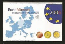 Satz Euro-Kursmünzen KMS Deutschland 2006 D - Polierte Platte PP + Holsten Tor