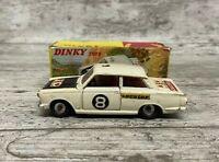 Dinky 212 Ford Cortina Rally Car In Original Box