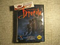 Bram Stoker's Dracula Sega Genesis Horror Adventure Game Boxed