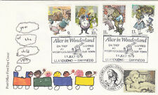 (57125) GB FDC DOUBLED Youth 1979 / Alice in Wonderland Lewis Carroll 1998