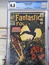 Fantastic Four #52 CGC 4.5 (First Appearance Of Black Panther)