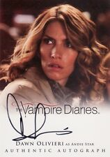 Vampire Diaries Season 2 Dawn Olivieri as Andie Star A19 Auto Card