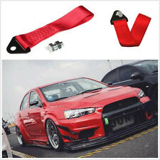 Universal High Strength Racing Tow Strap String Front Rear Bumper Towing Hook