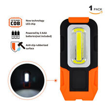 Battery Powered LED Work Light Portable 3W COB LED Inspection Lamp with Magnets