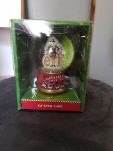 ELF Christmas Globe New