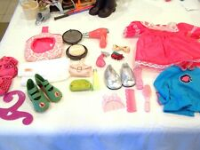 Our Generation Girl accessories and shoes box lot - 20 pieces