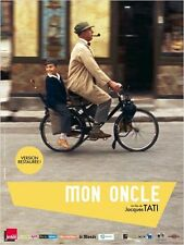 Affiche 120x160cm MON ONCLE 1958 Jacques Tati, Jean-Pierre Zola, Velo Solex - R