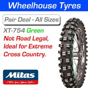 Mitas XT754 Super Light Extreme 120/90-18 65M Green T/T Not Road Legal