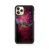 Flying Angry Space Turtle Starry Milky Way Galactic Space Fine Phone Case Cover