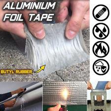 Super Strong Waterproof Tape Butyl Seal Rubber Aluminum Foil Tape 50mm x 5m