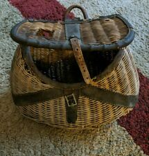Metal Basket Antique Easter Egg Apple Basket Wire 1940 Iron Vintage Farmhouse